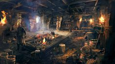 Pin by Jeremy Williams on Jack and Beanstalk Concept art world Concept art Game concept art