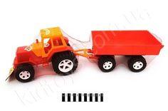 Трактор з причепом http://kidtoys.com.ua/ukr2573traktor-z-prichepom