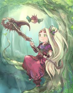 Viridi Goddess of Nature by doublejoker00.deviantart.com on @DeviantArt