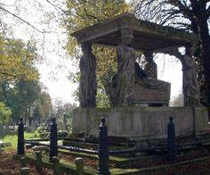 Kensal Green Cemetery London UK