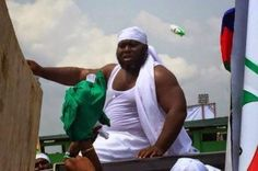 Photos: See Asari Dokubo Displaying At Goodluck Jonathan's Campaign Rally In Bayelsa - http://www.streetsofnaija.net/2015/02/photos-see-asari-dokubo-displaying-at-goodluck-jonathans-campaign-rally-in-bayelsa/