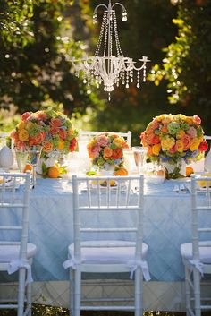 Heavenly Blooms: Orchard Wedding - Citrus Wedding Colors