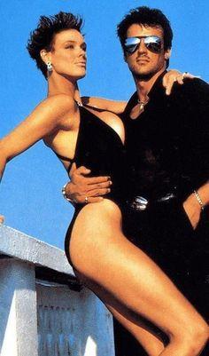 fotos Brigitte Nielsen and Sylvester Stallone Sylvester Stallone, Stallone Cobra, Stallone Rocky, Cinema Tv, Films Cinema, Hollywood Actor, Hollywood Stars, Hollywood Actresses, Vintage Hollywood