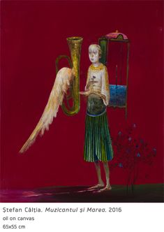 Surrealism, Oil On Canvas, Modern Art, Wings, My Favorite Things, Painting, Angels, Magic, Artists