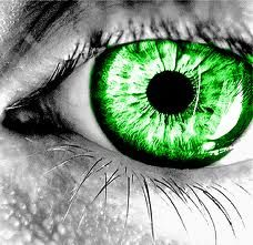 When my eyes turn this bright RUN! Between my natural Auburn Hair and Green eyes, scot Irish blood, you're Fucked! Dark Green Eyes, Girl With Green Eyes, Green Girl, Gorgeous Eyes, Pretty Eyes, Cool Eyes, Eye Pictures, Aesthetic Eyes, Look Into My Eyes