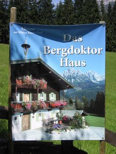 Das Bergdoktorhaus | Der Bergdoktor – Offizieller Fanclub zur beliebten ZDF-Reihe Wilder Kaiser, New Series, Austria, Montana, People, Movie, Farmhouse, Actors, Flathead Lake Montana