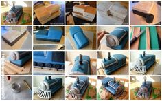 train cake how to