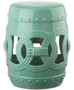Maia Ceramic Garden Stool, Direct Ships For Just $9.95 | Macys.com