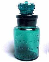 English Smelling Salts Bottle