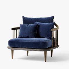 Fly SC1 Chair, nojatuoli, sininen