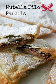 Nutella filo parcels from Comfort Bites
