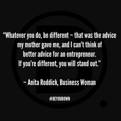 Dame Anita Lucia Roddick, was a British businesswoman, human rights activist and environmental campaigner and best known as the founder of the cosmetics company The Body Shop #BEYOUROWN ⭐️