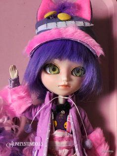 My newest custom doll on my #etsy shop: Isul Cheshire Cat!  #boys #aliceinwonderland #ooak #cheshirecat