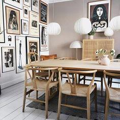 Dining Room Inspiration, Interior Inspiration, Dining Nook, Dining Table, Sofa Design, Furniture Design, Scandi Living, Interior Decorating, Interior Design