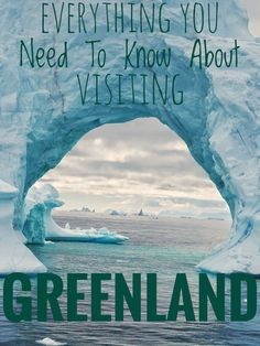 A complete guide to Greenland and everything you need know about visiting the biggest island in the world, from hiking to internet connection Time Travel, Places To Travel, Travel Destinations, Places To Go, Shopping Travel, Holiday Destinations, Greenland Travel, Iceland Travel, Greenland Iceland