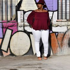 Plus Size Fashion - In My Joi: For the Frill of It