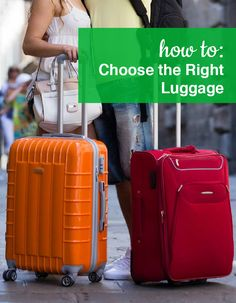 How to choose the right Luggage! Shop our full collection of Luggage at ShoeBuy!