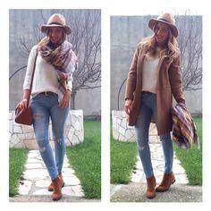 Look para hoyy  Jersey y bufanda #zara (new)  Sombrero #sfera (new)  Cinturón #stradivarius(new ) Botines #tiendalocal #unamas (new)  Jeans,abrigo y bolso (otra temporada)  #suiteblanco#pullandbear#stradivarius#wearing #ootd #outfit #outfitoftheday #look #lookbook #style #iger #instagramers #instablog #clothes #moda #trend #trendy #instagood #instamood #instafashion #instastyle #instalook