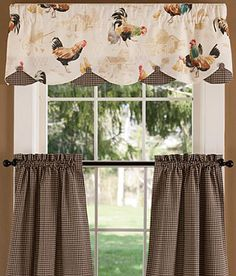 Kitchen Window Valances French Country  Choosing Decorative - French country valances