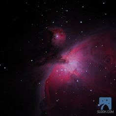 """Orion Nebula - with Paul Cox on 10/21/2012 -- So cool to see even with a small 4"""" scope. Amazing to think stars are born here."""