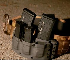 Kydex Rifle/Handgun mag pouches