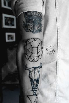 SV.A / black tattoo / ink