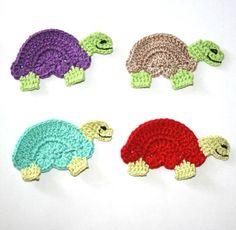 Pattern- Turtle Applique PDF via Etsy