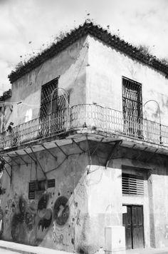 An Old House In Old Havana - Forgotten in Time by Uxbridge Ontario artist Max Marian Kalin. Dimensions: x Materials: Framed Photograph Uxbridge Ontario, Stunning Photography, Havana, All Art, Online Art, Photographs, Black And White, Artist, Artwork