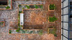 Passive Design, Latest House Designs, Urban Fabric, Brick Design, Urban Farming, Mexico City, Backyard Patio, Architecture Design, Gallery