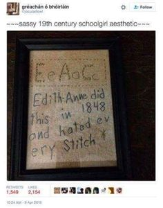 Edith Anne is awesome