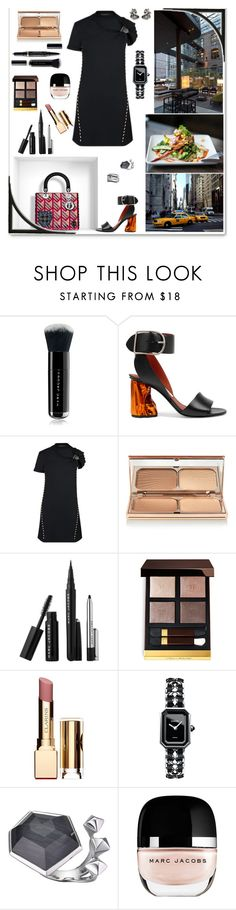 """LOUIS VUITTON Cruise Collection 2016"" by m2ri ❤ liked on Polyvore featuring mode, Zoffany, Marc Jacobs, Acne Studios, Louis Vuitton, Charlotte Tilbury, Tom Ford, Clarins, Chanel en Stephen Webster"