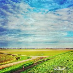 Pretty Duchtland  --------------------------- #giantific #pretty #winter #nl #netherlands #dutchland #fields #windmills #windturbines #wide #view #clouds #sky #nature #europe #dutch #nederland #holland #traveling #travelling#travel #traveltheworld#travelblogger #traveljunkie#gopro#goprooftheday #goprohero #sky_sultans#reizen #landscape