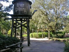 River Country water tower #disney #imagineering