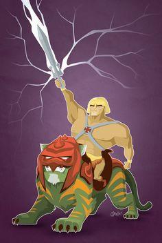He-Man - MOTU - Diego Grosso