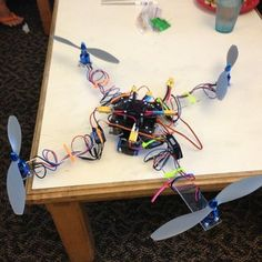 DIY Scratch build your own quad-copter! (Uses Ardupilot controller)