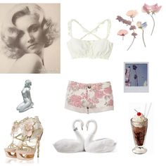 Girl After Your Heart by sweetcherrycola on Polyvore featuring moda and Lladró