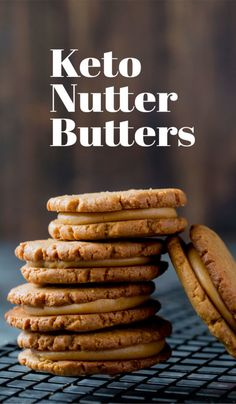 Our Keto Peanut Butter Cookies are the perfect low carb replacement for . t - Paleo / Keto/ Low Carb / Keto Cookies, Keto Peanut Butter Cookies, Chip Cookies, Roll Cookies, Shortbread Cookies, Sugar Cookies, Ketogenic Recipes, Low Carb Recipes, Cooking Recipes