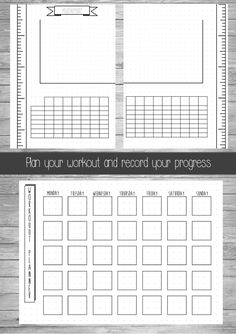 Bullet Journal Health and Fitness