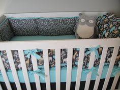 inside of crib