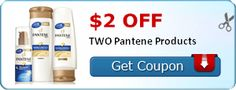 $2.00 off TWO Pantene Products