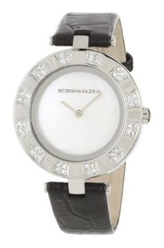 BCBGMAXAZRIA Women's BG6323 Analog Vintage Mother-Of-Pearl Dial Watch BCBGMAXAZRIA. $74.92. High grade genuine leather strap. Limited lifetime warranty. Water-resistant to 165 feet (50 M). Solid stainless steel case and caseback. 2-hand Japanese-Quartz movement