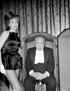 "Promotional photograph for ""The Alfred Hitchcock Hour"", 1962"