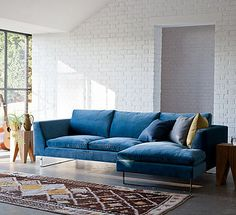 'Jasper' Modern Corner Sofa