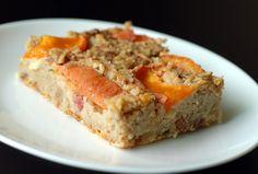 Apricot Oatmeal Breakfast Clafoutis