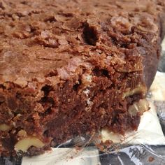 Gluten Free Chocolate Brownie | Reluctant Entertainer (Butter Substitute Glutenfree)