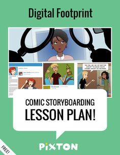 Your students will love writing about DIGITAL CITIZENSHIP with Pixton comics and storyboards! This FREE lesson plan features a Teacher Guide and themed props. PLUS 3 awesome activities with interactive rubrics and student examples.