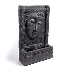 Lion Mask, Buddha Face, Like A Lion, Conservatory, Water Features, Fountain, Garden Design, Zen, Waterfall
