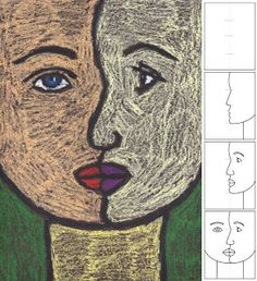 Art Projects for Kids: How to Draw a Cubist Portrait pocasso