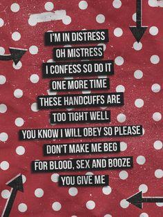 Blood sex and booze lyrics images 504