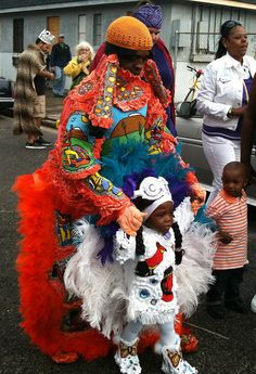 Zulu and Mardi Gras Indians 2011